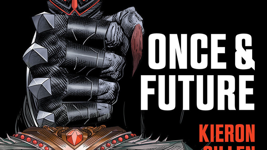 Once and Future Cover - Publicity - P 2019
