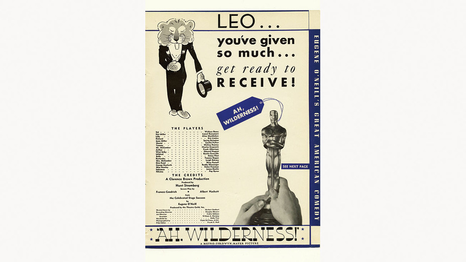 END PAGE - In 1936, MGM Took Out the First Oscars Ad - H 2019