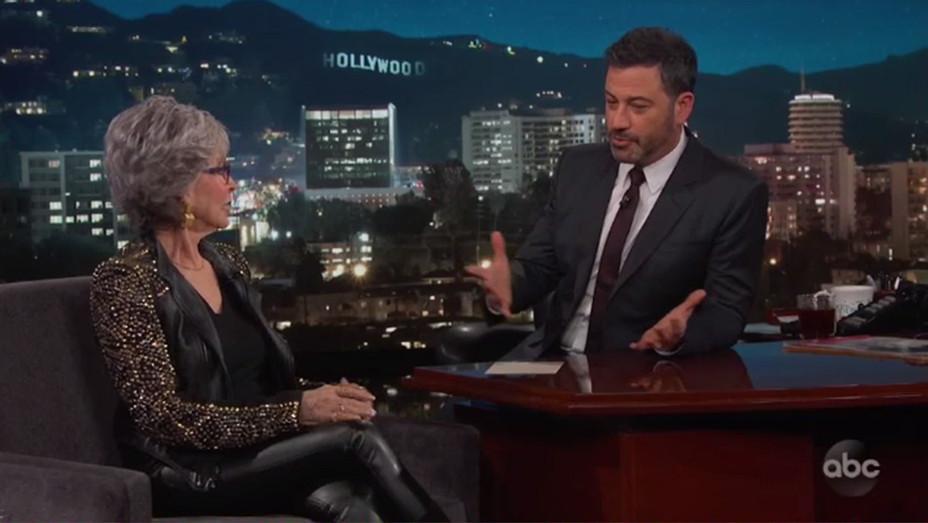 Rita Moreno Jimmy Kimmel Screenshot H 2019
