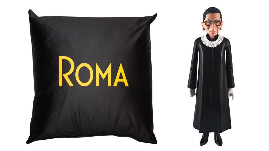 Roma Pillow_RBG Figure_Split - Publicity - H 2019