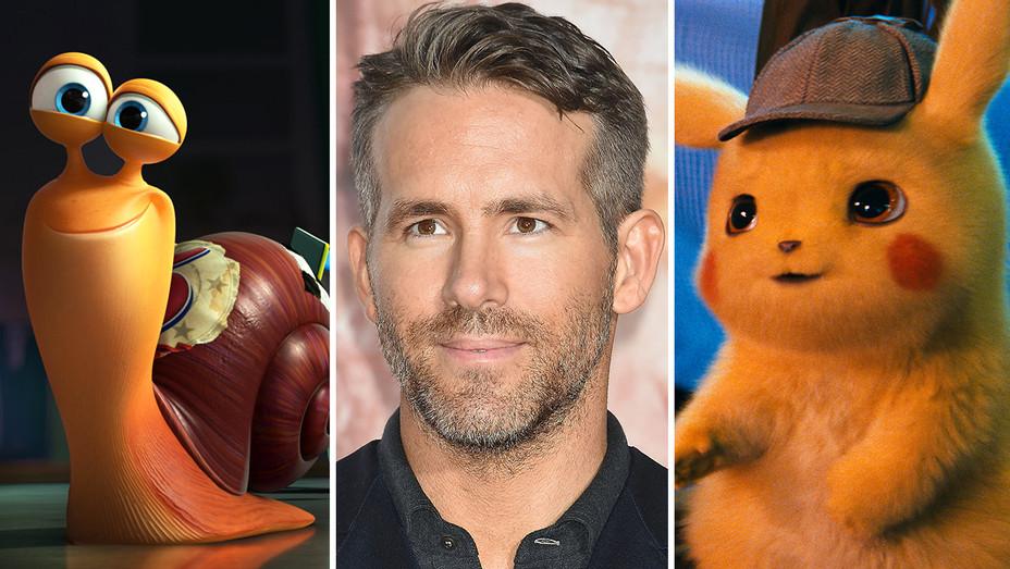 Ryan Reynolds-Turbo-Detective Pikachu- split-Publicity-Getty-H 2019