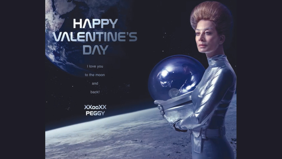 Peggy Siegal Goes to the Moon — in a Valentine's Day Card - Tim Palen Publicity -H 2019