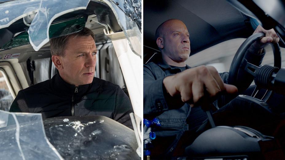 Spectre-Daniel Craig-Fate of the Furious-Vin Diesel-Stills-Photofest-Split-H 2019