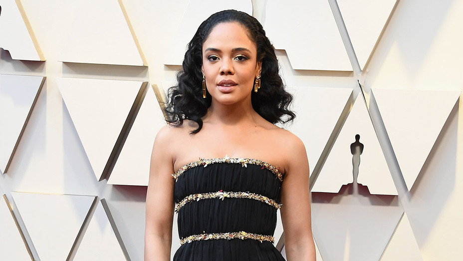 Tessa Thompson attends the 91st Annual Academy Awards - Getty - H 2019