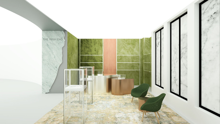 Barneys The High End cannabis retail concept -Barneys New York Publicity-H 2019