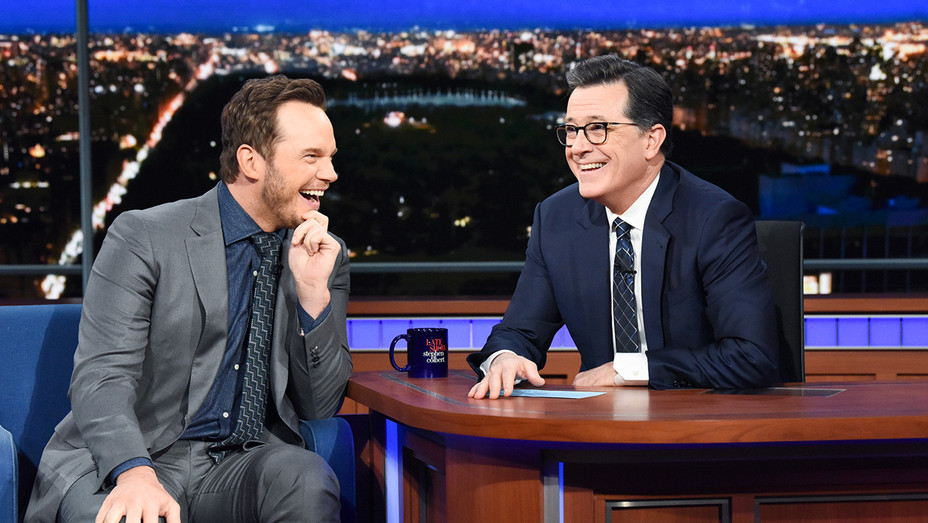 The Late Show with Stephen Colbert and guest Chris Pratt - Publicity - H 2019