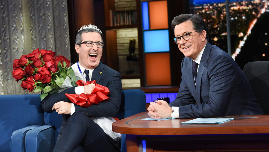 The Late Show with Stephen Colbert and guest John Oliver - Publicity - H 2019