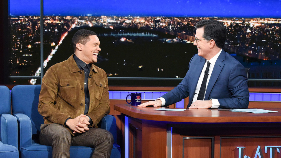 The Late Show with Stephen Colbert and guest Trevor Noah  - Publicity - H 2019