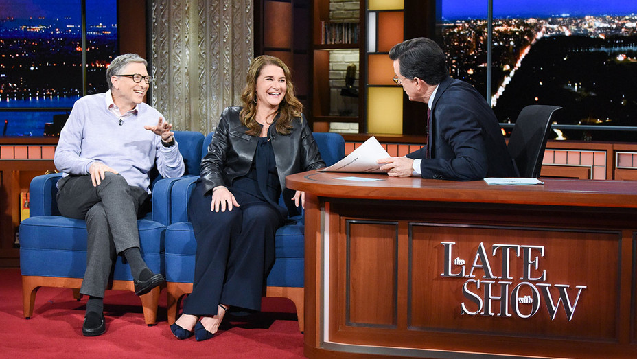 The Late Show with Stephen Colbert and guests Bill Gates & Melinda Gates - Publicity - H 2019