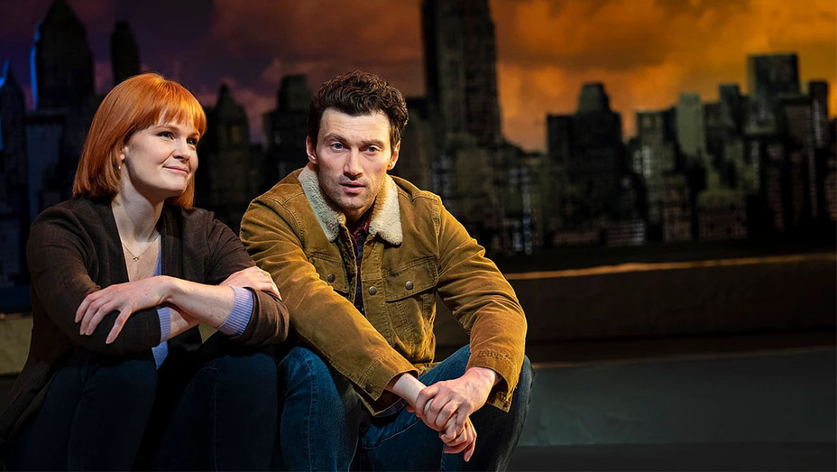 Super Hero Production Still 1 - Kate Baldwin and Bryce Pinkham - H 2019
