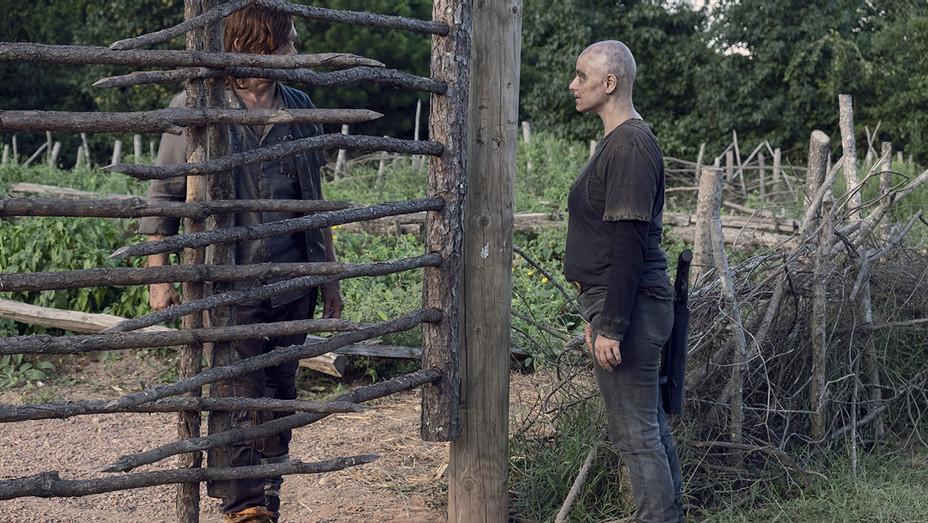 The Walking Dead _ Season 9, Episode 11 - Norman Reedus - Samantha Morton - Publicity-H 2019