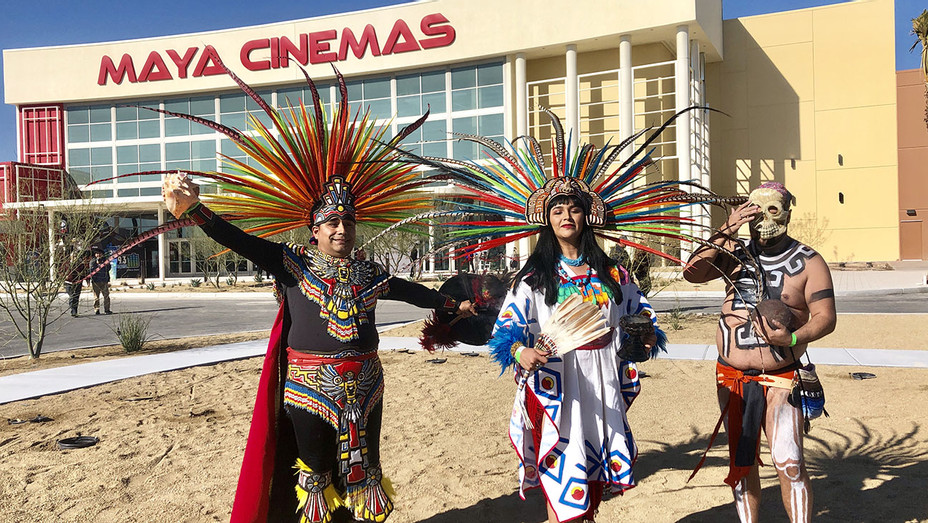 Xochipilli Danza Azteca Las Vegas at the Maya Cinemas North Las Vegas grand opening-Publicity-H 2019