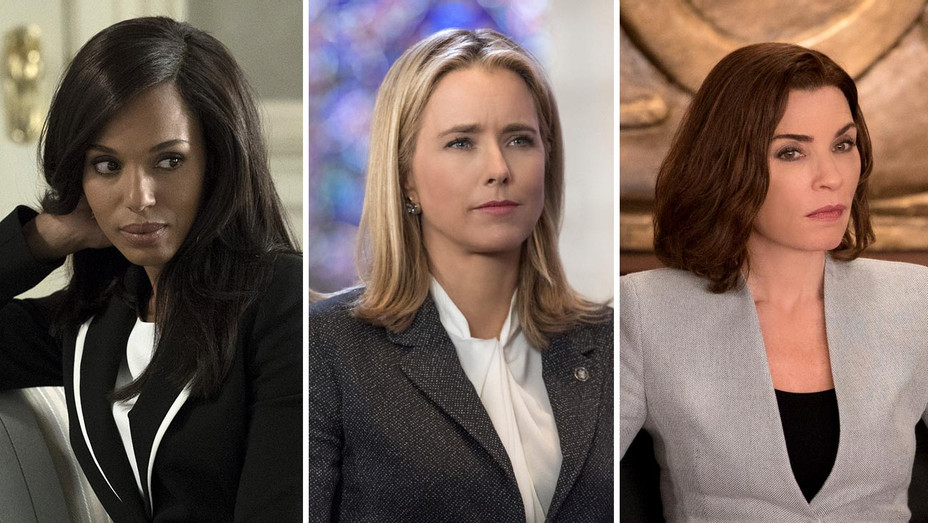 Kerry Washington in SCANDAL, Tea Leoni in MADAM SECRETARY and Julianna Marguiles in THE GOOD WIFE-Publicity Stills-Split-Photofest-H 2019
