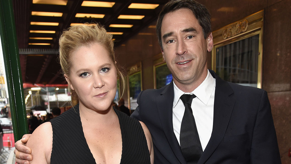 Amy Schumer and Chris Fischer attend the 72nd Annual Tony Awards - Getty - H 2019