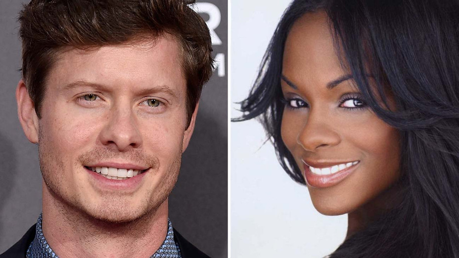 Anders Holm and Tika Sumpter- Split-Getty-H 2019