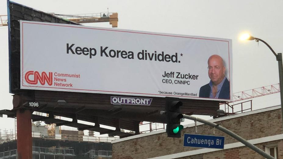 Anti CNN LA Billboard