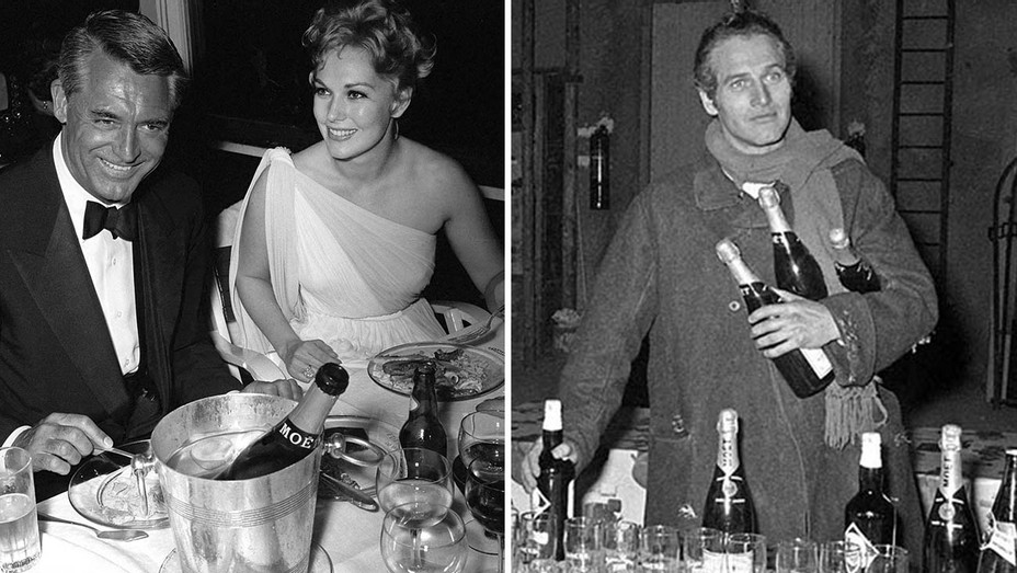 ONE TIME USE ONLY- Cary Grant and Kim Novak and Paul Newman -Split-Publicity-H 2019