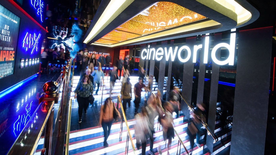 regal owner cineworld swings to first half loss says no certainty on future impact of covid 19 hollywood reporter regal owner cineworld swings to first