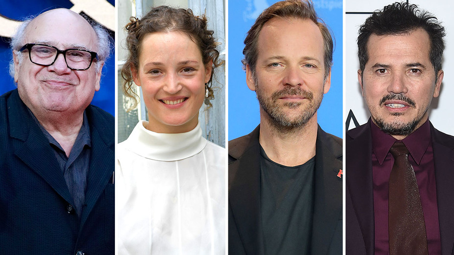 Danny DeVito, Vicky Krieps, Peter Sarsgaard, John Leguizamo - Split-Getty-H 2019