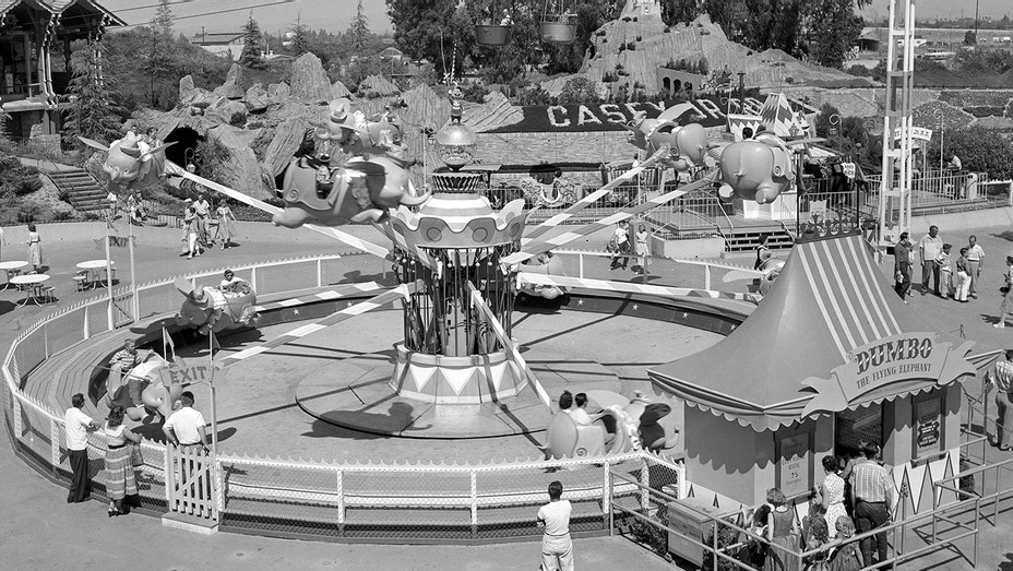 Dumbo ride -Disneyland 1957-Publicity-H 2019