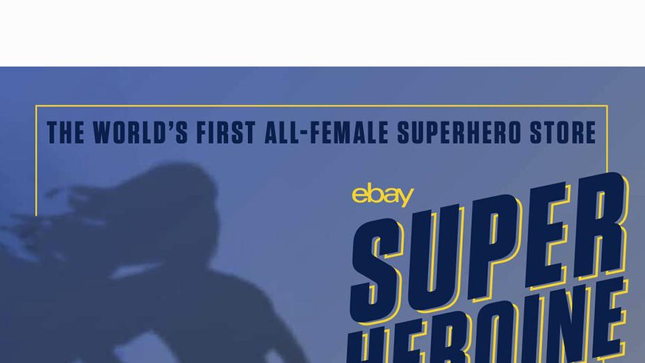 eBay Superheroine HQ art - Poster - P 2019