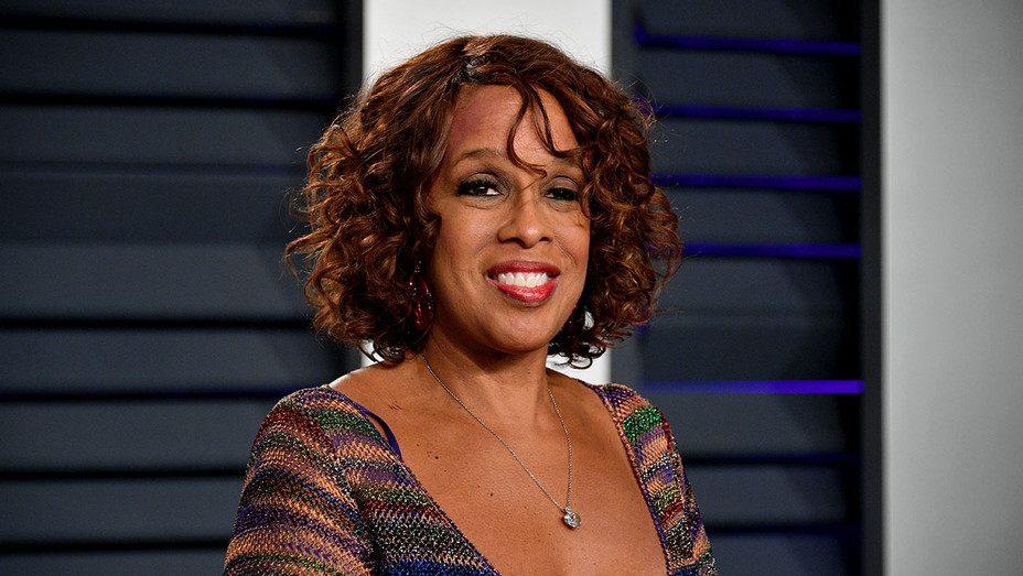 Gayle King attends the 2019 Vanity Fair Oscar Party -Getty-H 2019