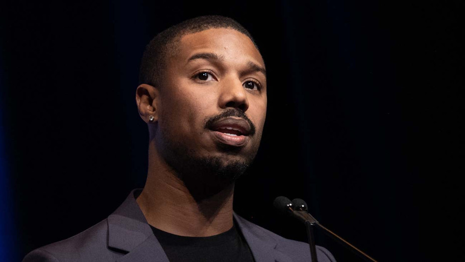 Michael B. Jordan attends the 34th Santa Barbara International Film Festival - Getty-H 2019