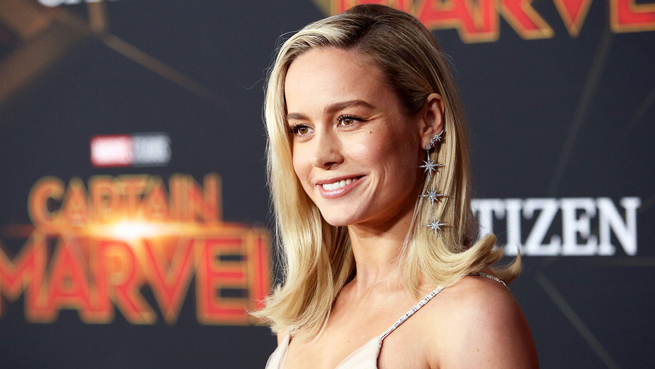 "Brie Larson attends the Los Angeles World Premiere of Marvel Studios' ""Captain Marvel"" - Getty- H 2019"