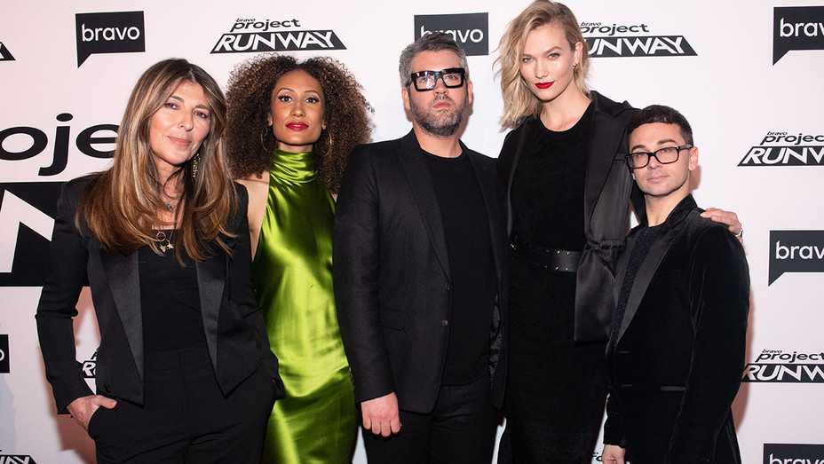 Project Runway - New York Premiere at Vandal on March 07, 2019- Getty-H 2019