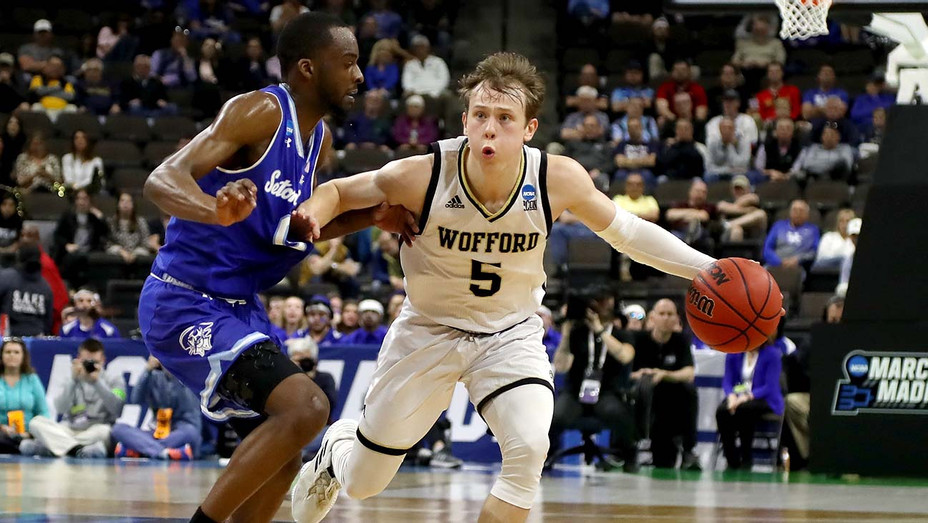 Wofford Terriers and Seton Hall Pirates -March 21, 2019-  2019 NCAA Men's Basketball Tournament - Getty-H 2019
