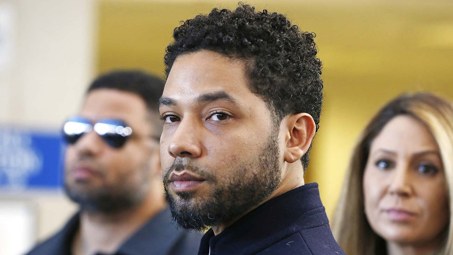 Jussie Smollett after his court appearance -March 26, 2019 -Getty-H 2019