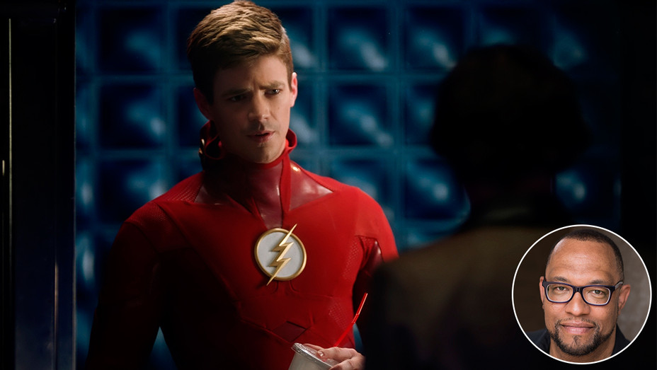 Grant Gustin The Flash Eric Wallace Inset - Publicity - H 2019