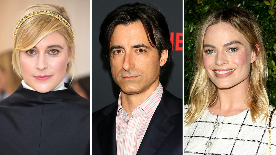 Greta Gerwig, Noah Baumbach and Margot Robbie-Split-Getty-H 2019