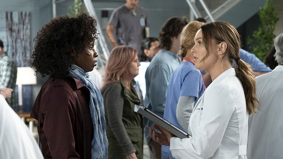Grey's Anatomy- Khalilah Joi and Camilla Luddington-Publicity Still-H 2019