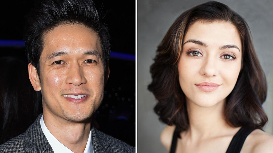 Harry Shum Jr. and Katie Findlay - H 2019