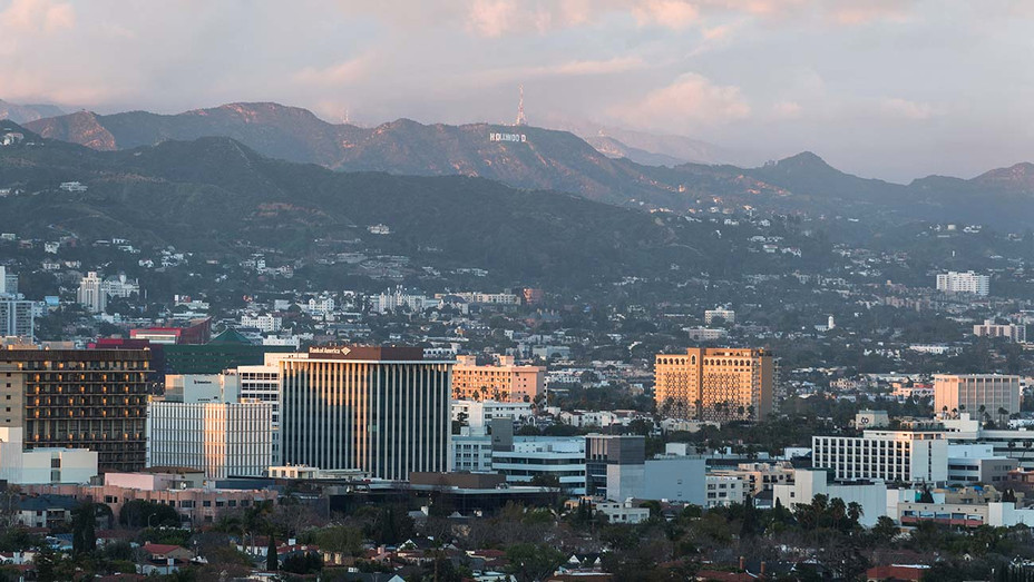 Hollywood Sign looking over Sunset Los Angeles-Getty-H 2019