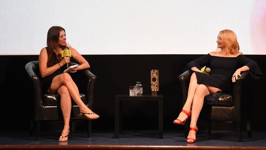 Miami Film Festival -Tatiana Siegel and Patricia Clarkson - Publicity-H 2019