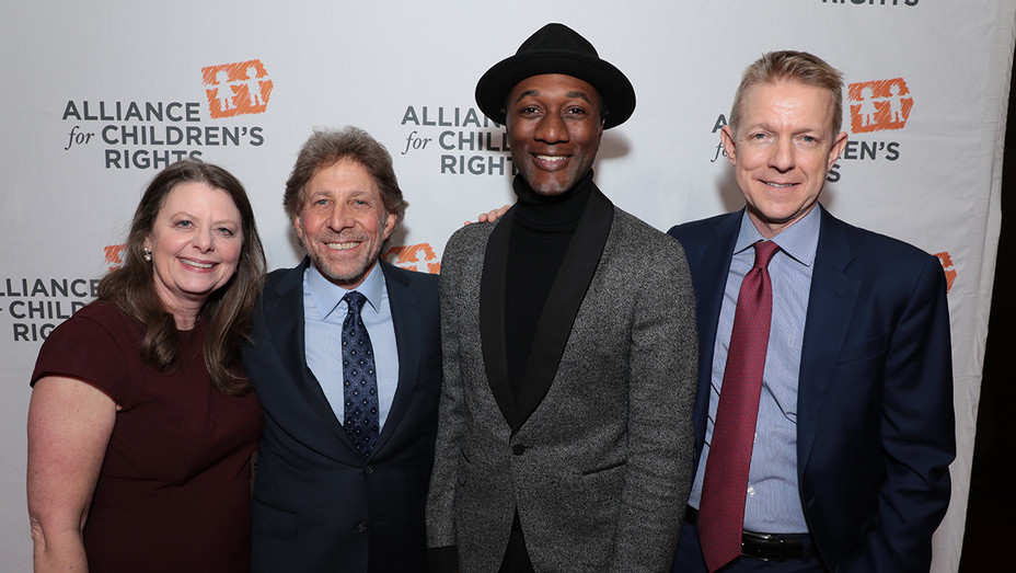 Jennifer Braun, Mitch Kaplan, Aloe Blacc and Kevin Beggs - Publicity - H 2019