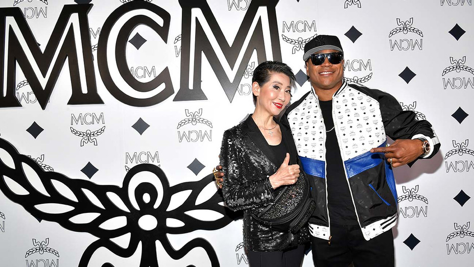Kim Sung-Joo and LL Cool J attend MCM Global Flagship Store Grand Opening-Getty-H 2019