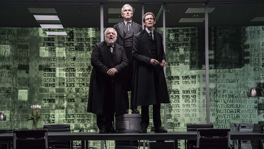The Lehman Trilogy - Production Still 1- Simon Russell Beale, BenMiles, and Adam Godley - Publicity-H 2019