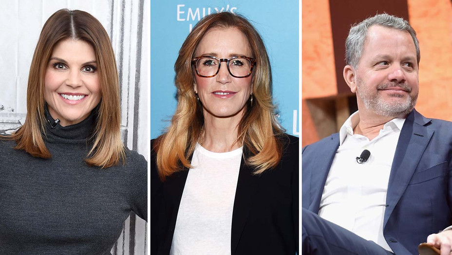 Lori Loughlin_Felicity Huffman _Bill McGlashan_Split - Getty - H 2019