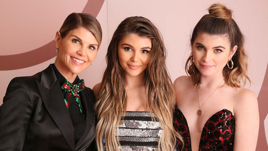 Lori Loughlin, Olivia Jade Giannulli and Isabella Rose Giannulli -Getty-H 2019