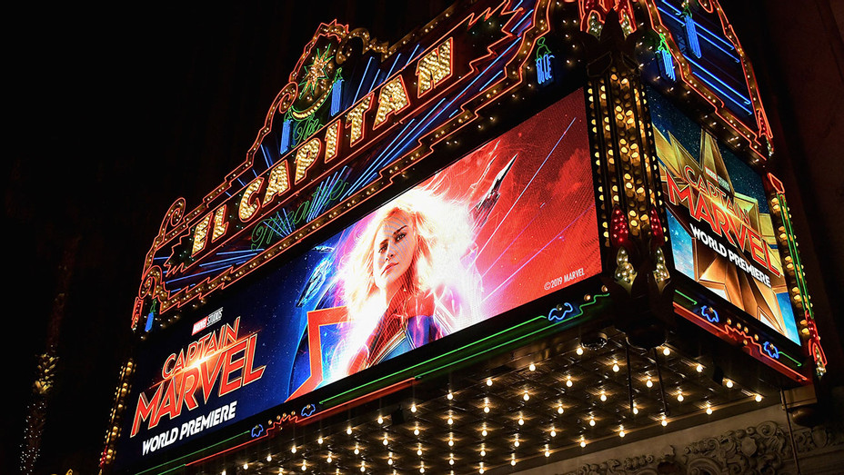 Los Angeles World Premiere Of Marvel Studios' 'Captain Marvel'--Getty-H 2019