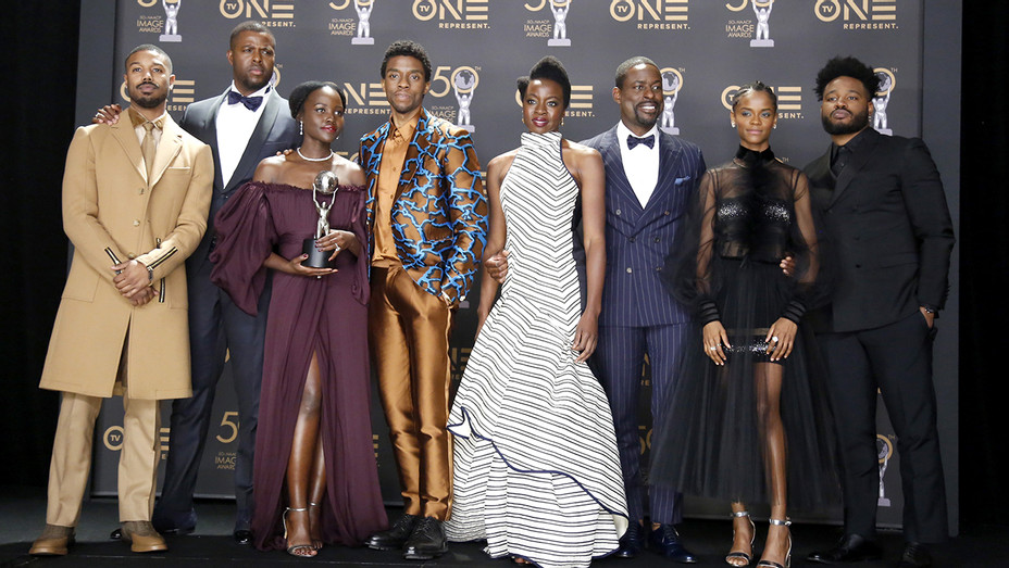 'Black Panther' Cast NAACP Awards - Getty — H 2019