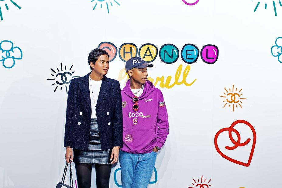 Pharrell Williams Launches Capsule