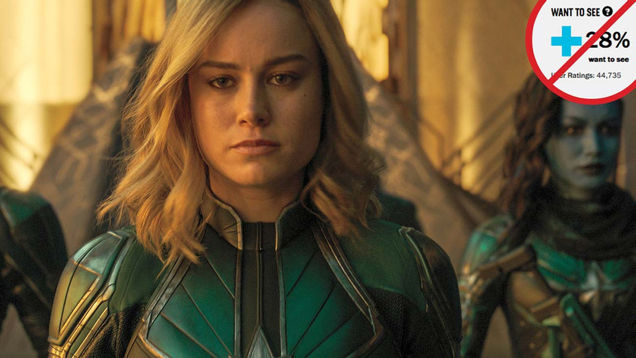 Rotten Tomatoes and Captain Marvel Graphic - Publicity-H 2019
