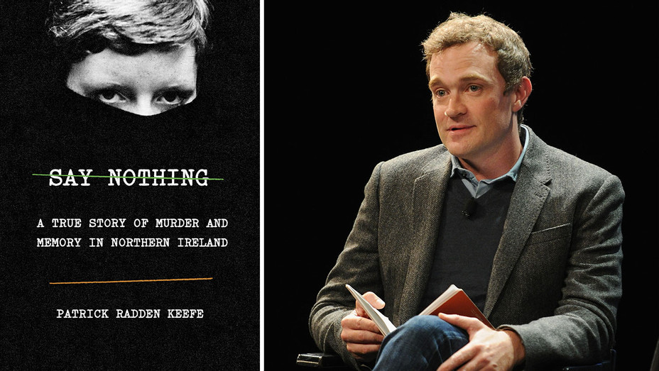 Say Nothing Book Cover-Patrick Radden Keefe-Publicity-Getty-Split-H 2019