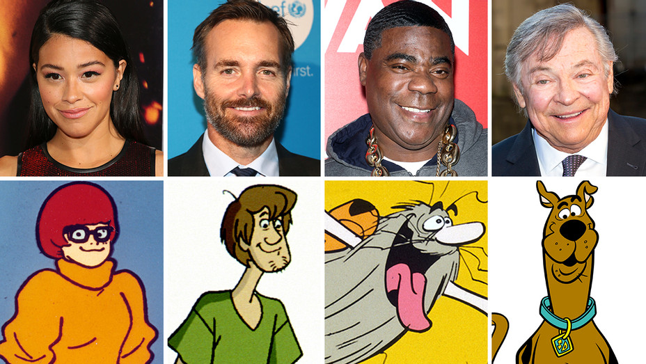Rodriguez VELMA Forte SHAGGY Morgan CAPT CAVEMAN Welker SCOOBY - Getty - H 2019