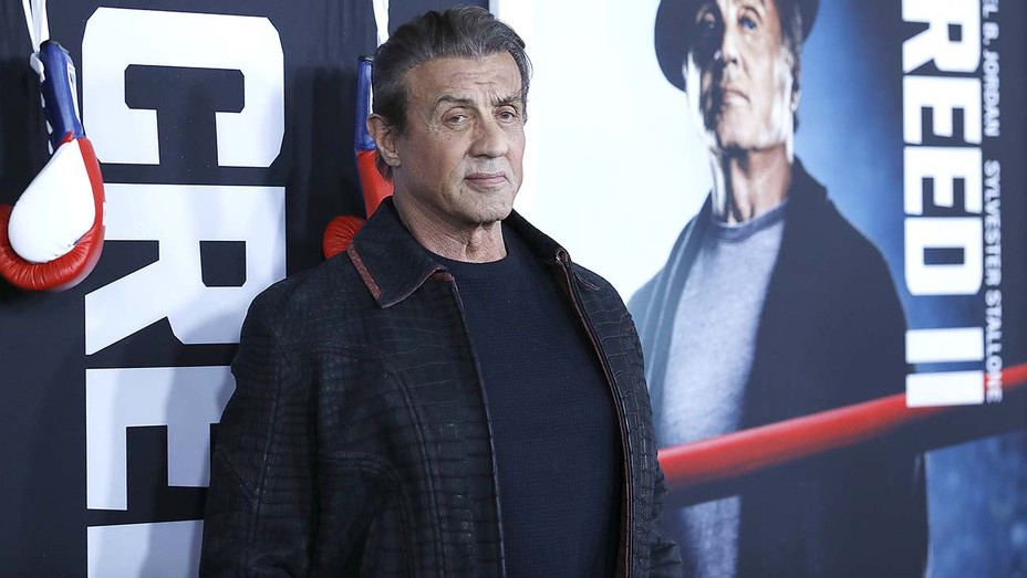 Sylvester Stallone attends 'Creed II' Premiere - Getty - H 2019