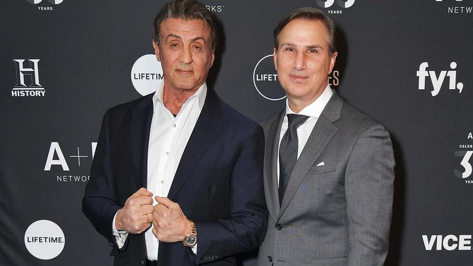 Sylvester Stallone Paul Buccieri - Publicity - H 2019